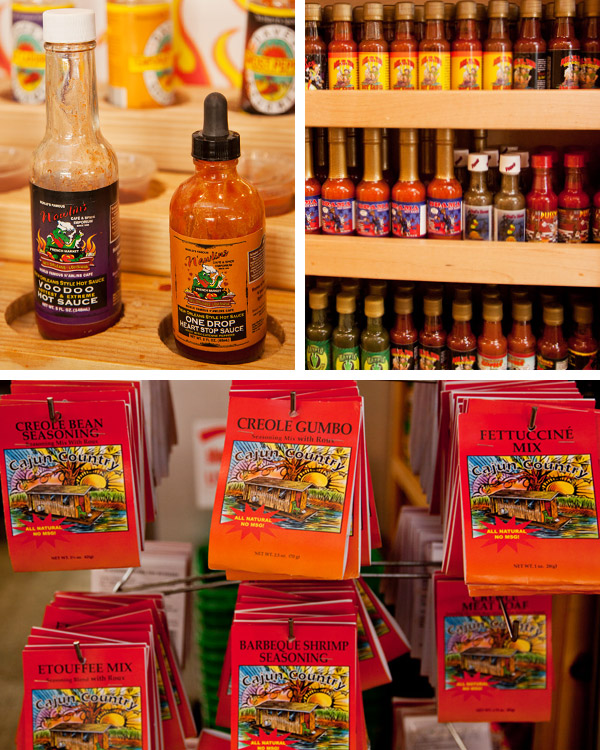 French Market, Hot Sauce and Spices