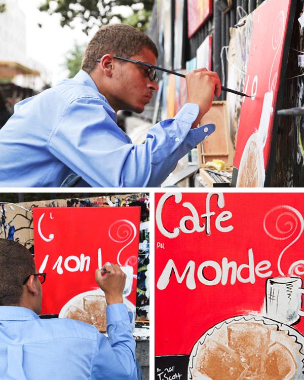 """Cafe du Monde"" by Trevor Scott"