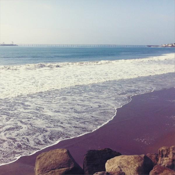 Rincon Beach / Seacliff / Pacific Coast Highway [Hipstamatic/iPhone]