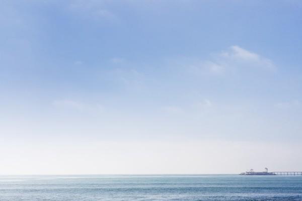 Rincon Island / Richfield Pier / Rincon Beach / Seacliff / Pacific Coast Highway